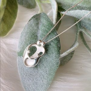 NIB Family 925 Sterling Silver Necklace